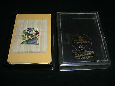 EGYPTIAN THEMED Playing Cards by GRAPHICA Made in Canada Boxed Cleopatra Complet