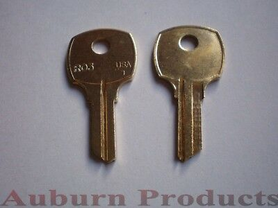 Ro3 Nationalcabinet Key Blank / 10 Key Blanks / Free S/h / Check For Discounts
