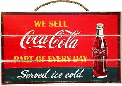 We Sell Coca-Cola Sign