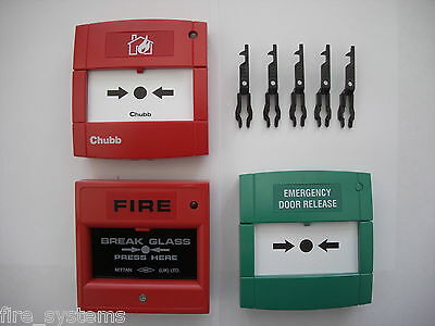 5x Fire Alarm Call point Test Key £4.10 + vat for Chubb, ADT, Protec, XP95