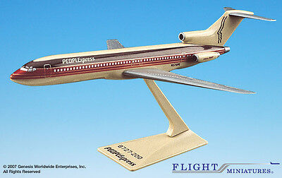 Flight Miniatures PEOPLExpress Airlines 1981 Livery Boeing 727-200 1/200 Scale