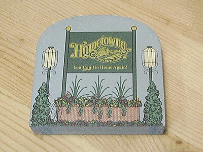 HOMETOWNE SIGN Bowmansville PA Hometowne Collectibles Compatible with