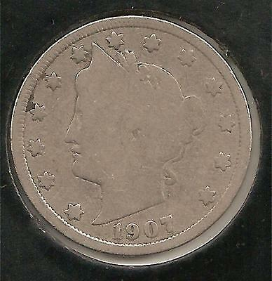 1907 GOOD Liberty Nickel #4