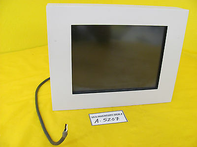 TEL Tokyo Electron BE6138A2 Touch Screen LCD Monitor LCD1012X Used Working