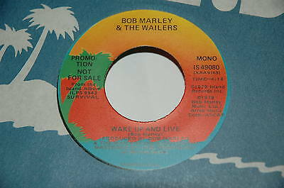 "7""/BOB MARLEY & THE WAILERS/WAKE UP AND LIVE/PROMOTION PROMO/Island IS49080"