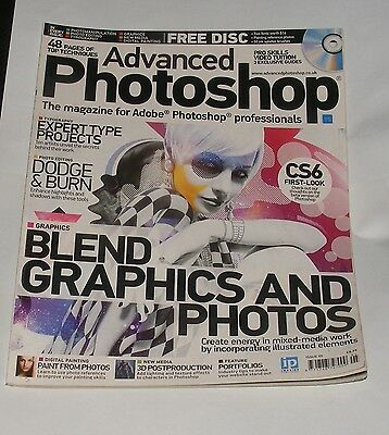 Advanced Photoshop Issue No.95 - Blend Graphics And Photos/paint From Photos