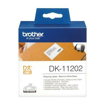 Brother P-touch DK-11202 (62mm x 100mm) Shipping Labels (300 Labels)