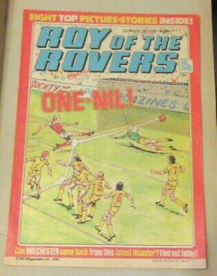 Roy Of The Rovers Comic 28Th March 1981 Sign Please Trevor Cherry