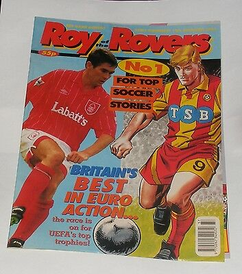 Roy Of The Rovers Comic 12Th September 1992