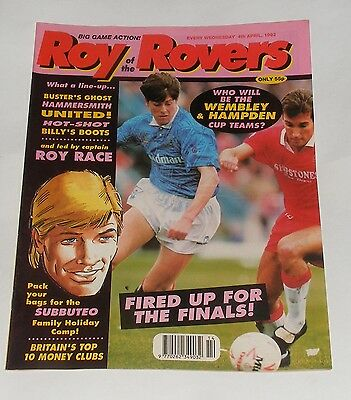 Roy Of The Rovers Comic 4Th April 1992