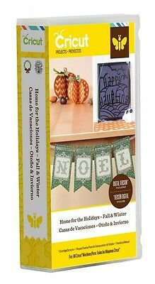 CRICUT - Home for the Holidays - Fall & Winter - Project Cartridge 2002132