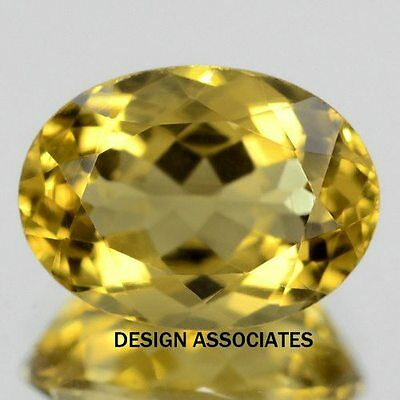 8X6 Mm Oval Cut Golden Citrine All Natural Aaa