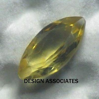 8X4 Marquise Cut Golden Citrine All Natural Aaa 2 Piece Set