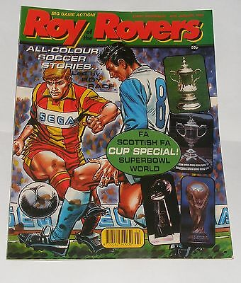 Roy Of The Rovers Comic 25Th January 1992