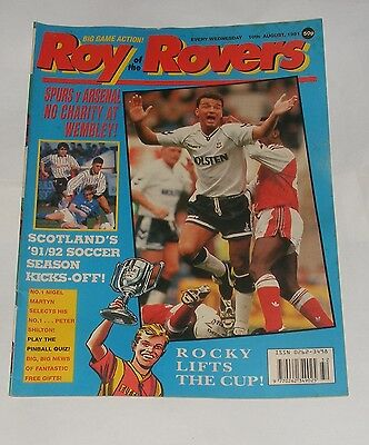 Roy Of The Rovers Comic 10Th August 1991
