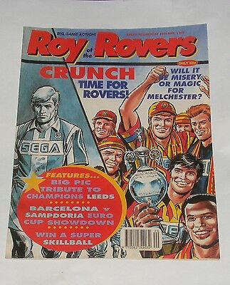 Roy Of The Rovers Comic 16Th May 1992