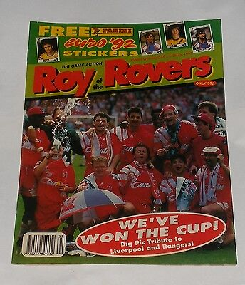 Roy Of The Rovers Comic 23Rd May 1992