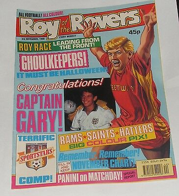 Roy Of The Rovers Comic 3Rd November 1990