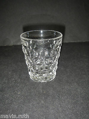 Fostoria Glass AMERICAN Line 2056 Clear Old Fashioned Tumbler 3 3/8""