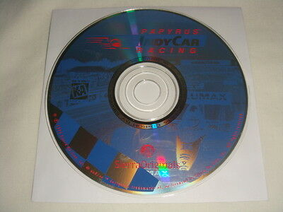 Papyrus Indy Car Racing - PC CD Computer game Disc Only IndyCar SIERRA 1996 K-A