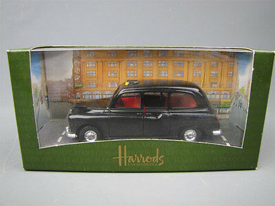 1995 Harrods Kinghtsbridge Diecast Black Taxi Car MIBFS