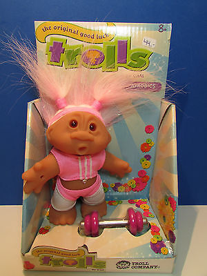 """AEROBIC GIRL  - 5"""" DAM Troll Doll - NEW IN PACKAGE - Europe Edition"""