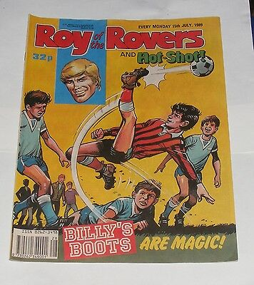 Roy Of The Rovers Comic 15Th July 1989