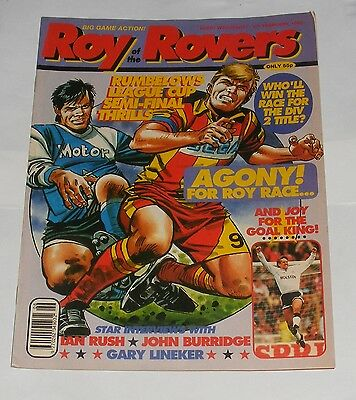 Roy Of The Rovers Comic 8Th February 1992