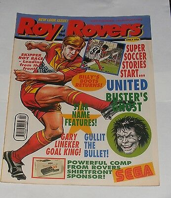 Roy Of The Rovers Comic 29Th February 1992
