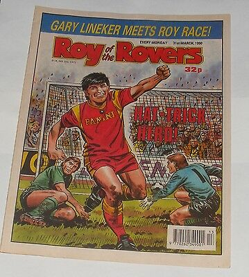 Roy Of The Rovers Comic 31St March 1990