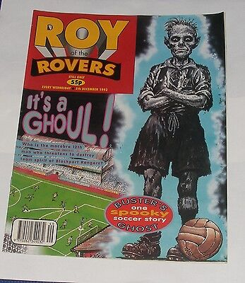 Roy Of The Rovers Comic 5Th December 1992