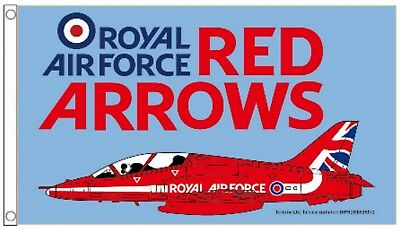 The Red Arrows RAF Royal Air Force OFFICIAL Licenced  Merchandise 5'x3' Flag