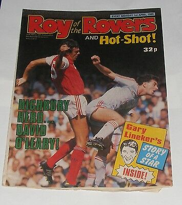 Roy Of The Rovers Comic 1St April 1989