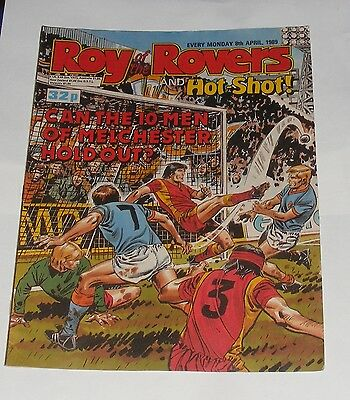 Roy Of The Rovers Comic 8Th April 1989