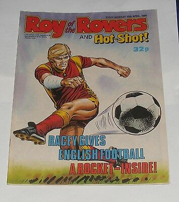 Roy Of The Rovers Comic 15Th April 1989