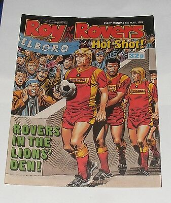 Roy Of The Rovers Comic 6Th May 1989