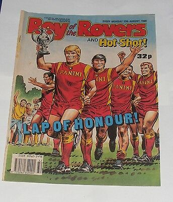 Roy Of The Rovers Comic 12Th August 1989