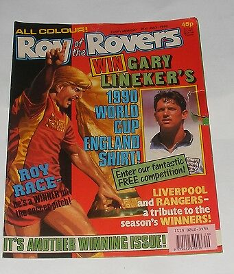 Roy Of The Rovers Comic 21St July 1990