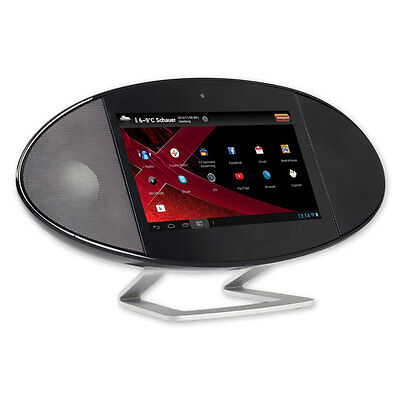 Internet Radio /TV mit WiFi Xoro HMT 390 Android Bluetooth MP3 Multitouch Wetter
