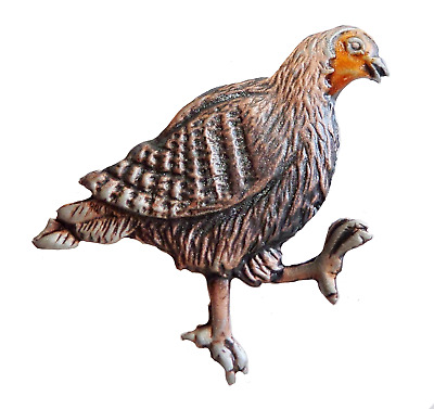 Grouse Coloured & Lacquered Pewter Pin Badge - Exclusive to 1000Flags