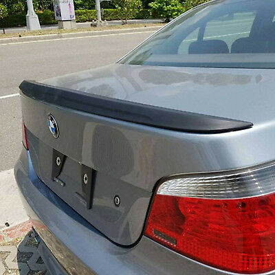 Abs Black M5 Style Rear Boot Trunk Lip Spoiler Wing For Bmw 5 Series E60 04-10
