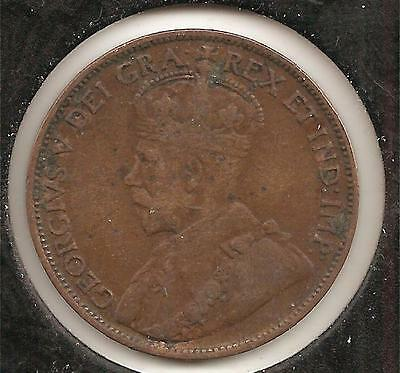1912 FINE-VERY FINE Canadian Large Cent #3