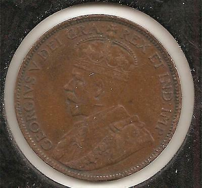 1912 VERY FINE Canadian Large Cent #4
