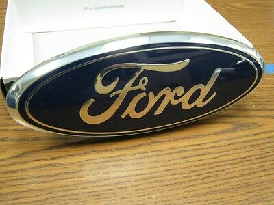 NEW 06,07,08,09,10,11,12 Ford Fusion Front Grill OEM Emblem Blue Oval!