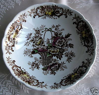 Ridgway China Old English Bouquet Berry Bowl