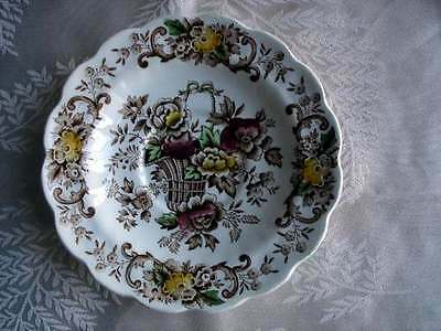 Ridgway China Old English Bouquet Saucer