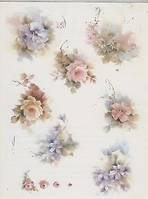 Floral Variety #44 by Helen Humes China Painting Study 1975