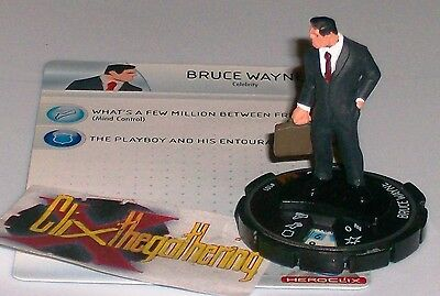 BRUCE WAYNE #101 Brave and the Bold DC HeroClix OP LE