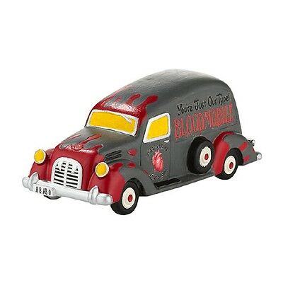 """Dept. 56 SV HALLOWEEN  """"BEWARE OF THE BLOODMOBILE"""" ~ New For 2013 ~ MIB"""