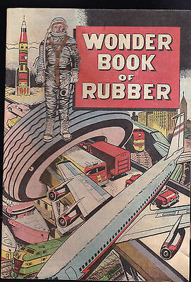Wonder Book of Rubber Comic Book BF Goodrich 1965 Promotional
